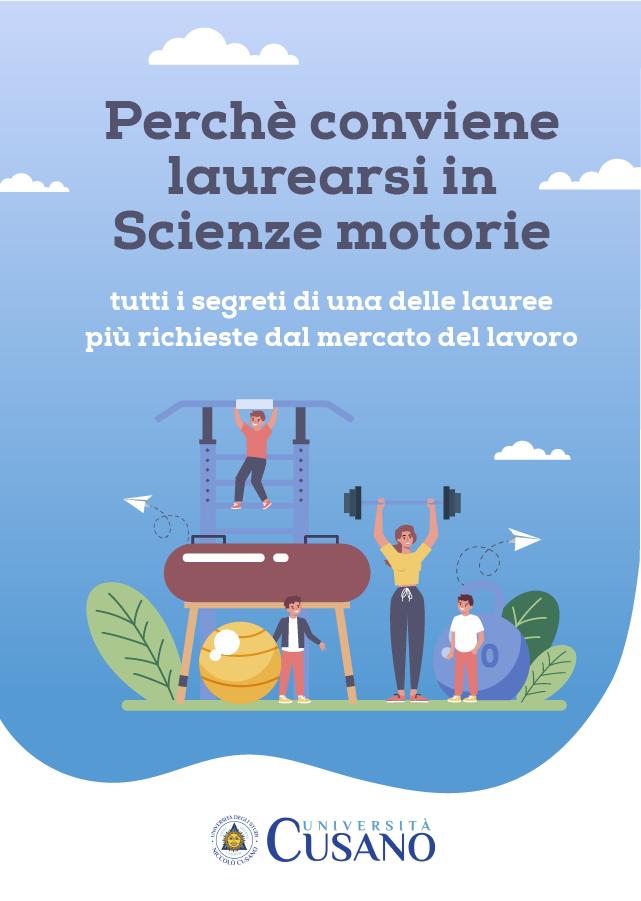 Infografica Perchè conviene laurearsi in Scienze Motorie
