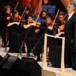 Bocelli canta all'Auditorium Conciliazione  per la ricerca del Bambin Gesù