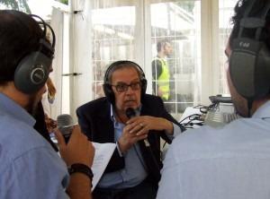Pino Scaccia a Radio Cusano Campus