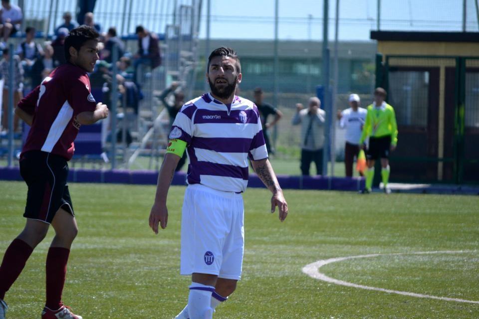 L'attaccante Maurizio Alfonsi, acquisto dell'Unicusano Fondi