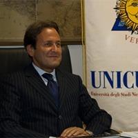 Il Rettore dell'Università Niccolò Cusano, Prof Fabio Fortuna