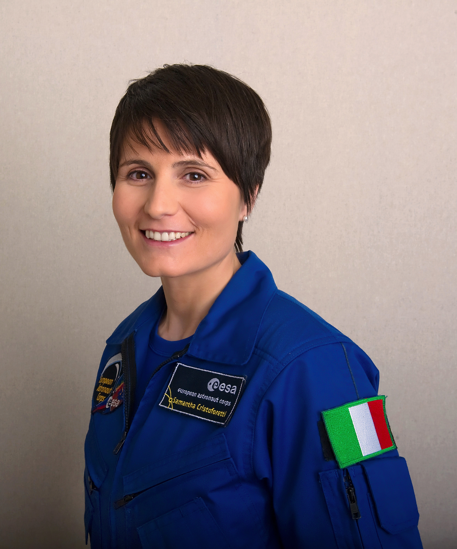 Samantha Cristoforetti, astronauta