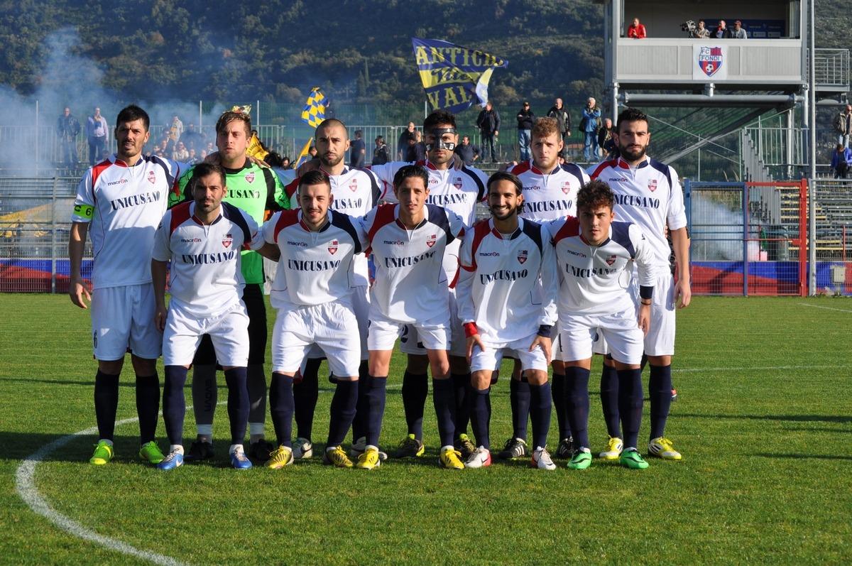 Unicusano Fondi, 2-2 contro la Viterbese