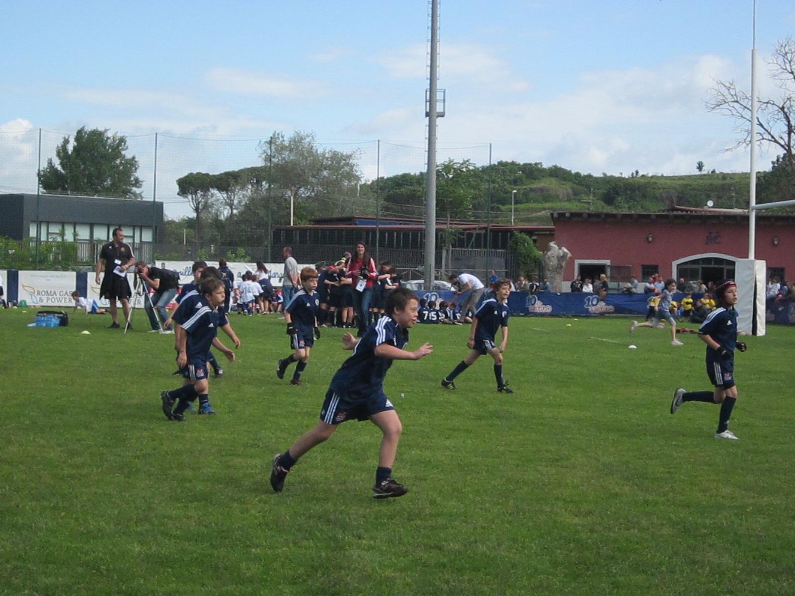 Salvatore, ragazzo down, gioca a rugby