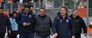 L'allenatore dell'Unicusano Fondi Calcio, Sandro Pochesci