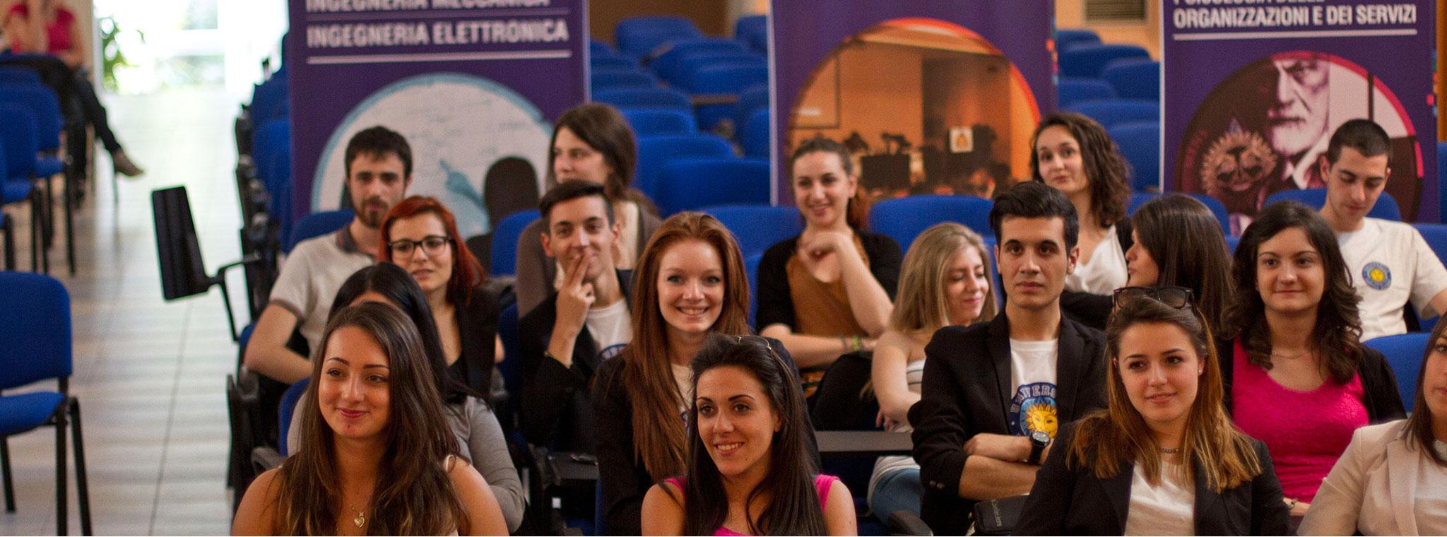 Alcuni liceali italiani hanno visitato l'Università Niccolò Cusano, una grande opportunità per tutti gli studenti