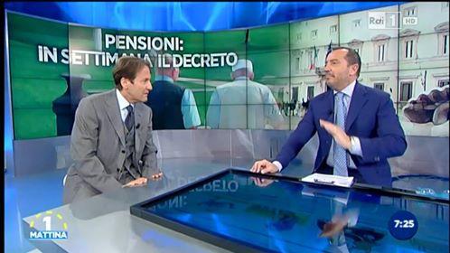 Fabio Fortuna, magnifico Rettore Unicusano, intervenuto a Unomattina l'11 maggio