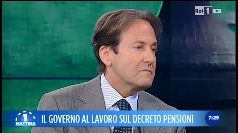 Fabio Fortuna, Rettore della Cusano, venerdì 29 maggio interverrà a Unomattina