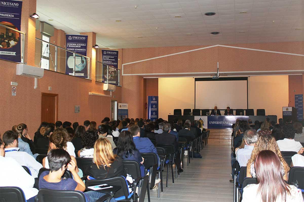CdA Università Niccolò Cusano presentato ieri mattina