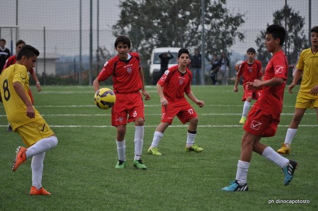 Vengono eliminati dal torneo, ma a testa alta, i giovanissimi dell'Unicusano Fondi Calcio