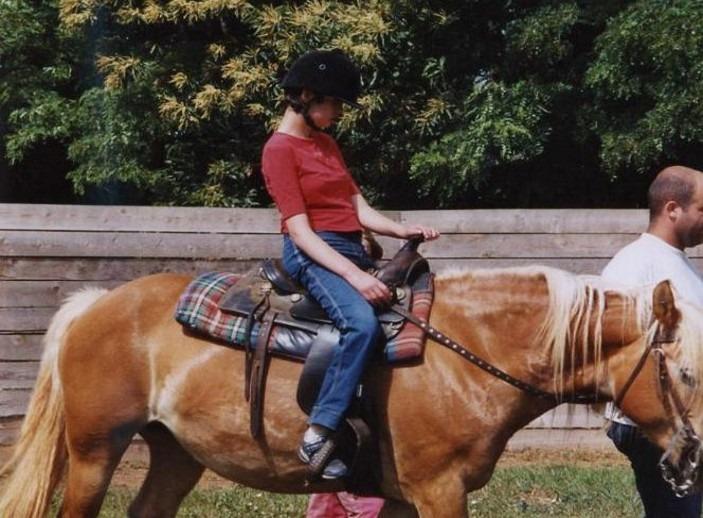 Andrea Ministro, ha imparato a innamorarsi dei cavalli grazie all'ippoterapia e sarà agli special Olympics