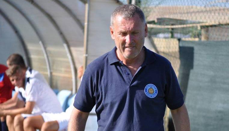 Sandro Pochesci, allenatore dell'Unicusano Fondi Calcio