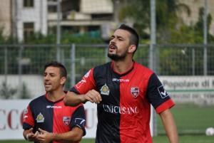 L'Unicusano Fondi Calcio ha battuto 3-0 il Serpentara e conquistato così la prima vittoria in campionato