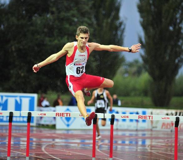 Eusebio Haiti, studente dell'Università Niccolò Cusano e atleta