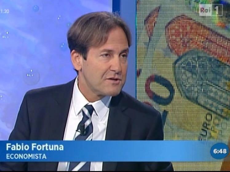 Fabio Fortuna, Magnifico Rettore dell'Università degli Studi Niccolò Cusano, ospite di Rai Unomattina del 2 dicembre 2015