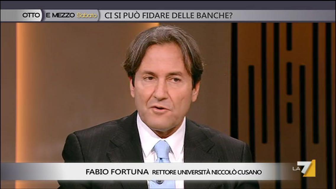 Fabio Fortuna ospite di Otto e Mezzo su La7