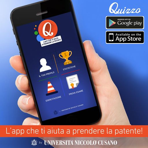 unicusano lancia Quizzo, la app per i test sulla patente