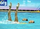 UniCusano Aurelia nuoto: le ragazze del sincro azzurro