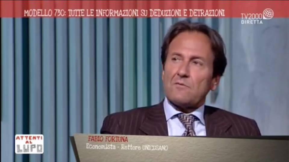 25 maggio 2016, Fabio Fortuna, Rettore Unicusano, ospite di Attenti al Lupo