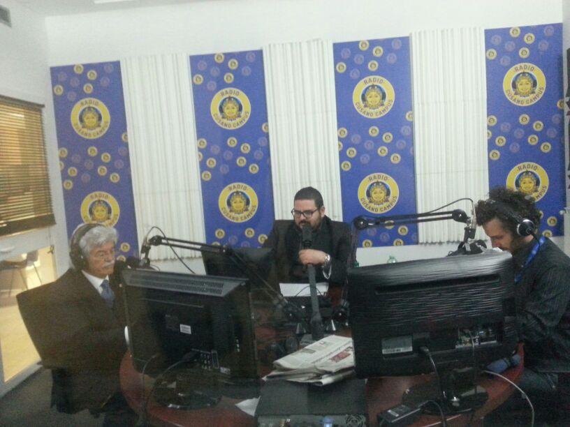 Razzi a Radio Cusano Campus