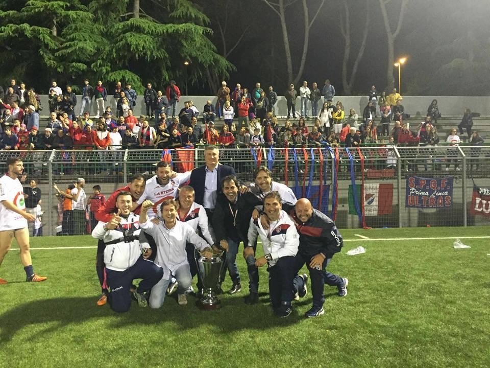 UnicusanoFondi, il trionfo in Coppa Italia
