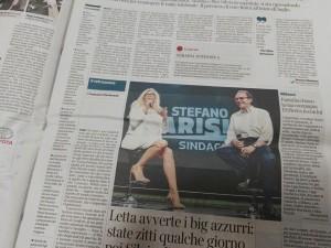 A pagina 13 del Corriere della Sera del 17 giugno si parla di Radio Cusano Campus