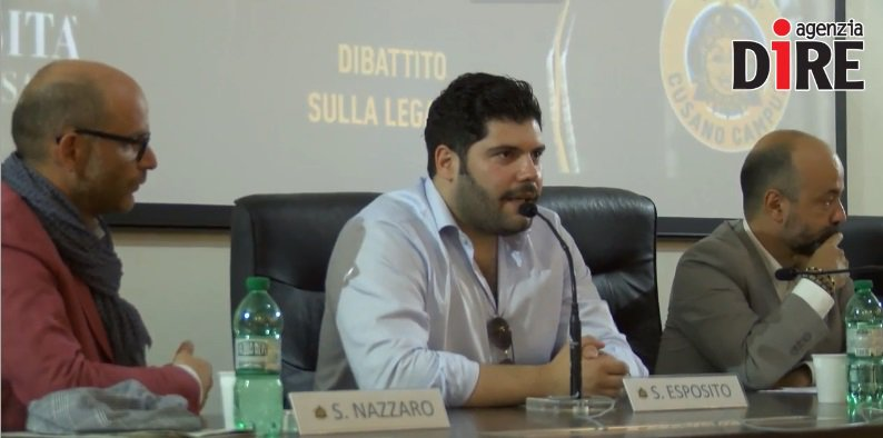 Salvatore Esposito dibattito legalità Università Niccolò Cusano