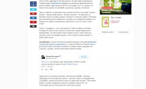 Repubblica rilancia l'intervento di Renato Brunetta su Radio Cusano Campus