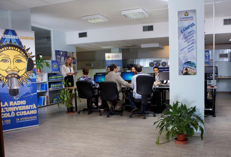 Radio Cusano Campus radio dell'Università Niccolò Cusano