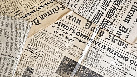 il primo giornale della storia