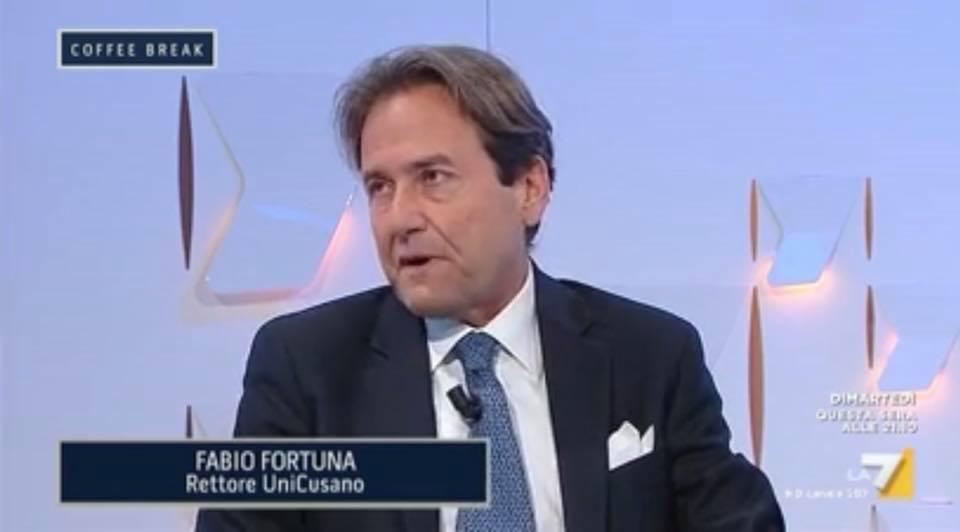 Fabio Fortuna coffee break