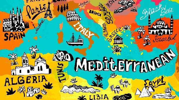 geopolitica del Mediterraneo