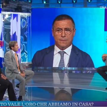 VIDEO - Rettore Fortuna ospite di Vita In Diretta - Puntata del 15/09/2018