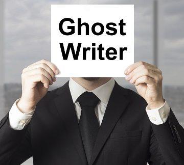 lavorare come ghost writer