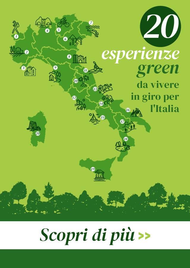 infografica turismo sostenibile in italia