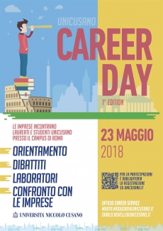 Career Day Unicusano - 1st edition