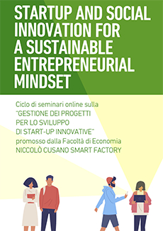 Startup and social innovation for a sustainable entrepreneurial mindset