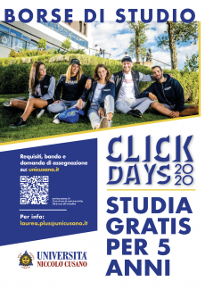 Borse di Studio - Click days