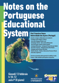 Notes on the Portuguese Educational System
